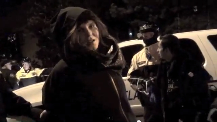 Emmalynn Garrett Arrested at Occupy