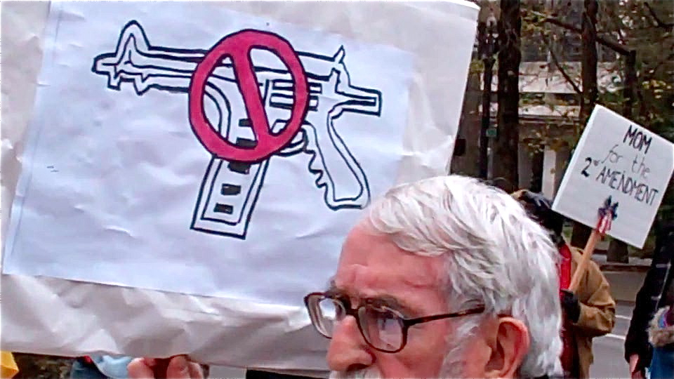 wind anti-gun sign