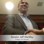 MERKLEY GONE WILD: OBAMACARE, VET BENEFITS, PROMOTES ILLEGALS VOTING, AND GLOBAL WARMING ALARMISM