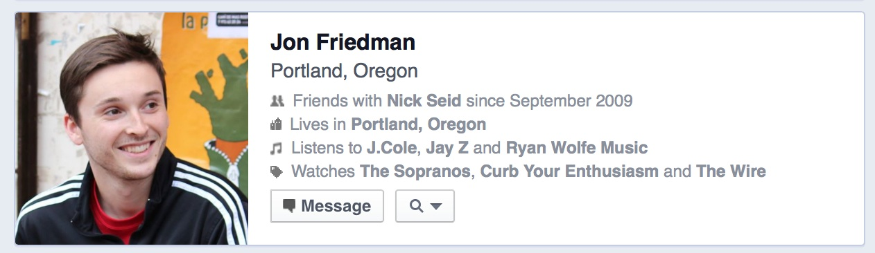 seid facebook 36 is friends with jon friendman
