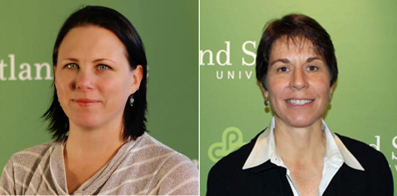 Email to the Office office of Student Activities and Leadership at first went unanswered.  Aimee Shattuck (Left) the Director of the office finally responded shortly after a follow-up email to Jackie Balzer (right), Portland State University's Provost for Student Affaires.
