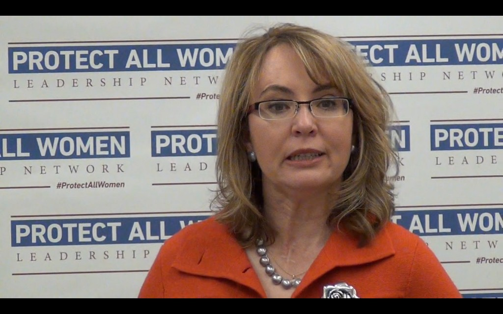 Gabby Giffords Plots With Oregon Gun Grabbers