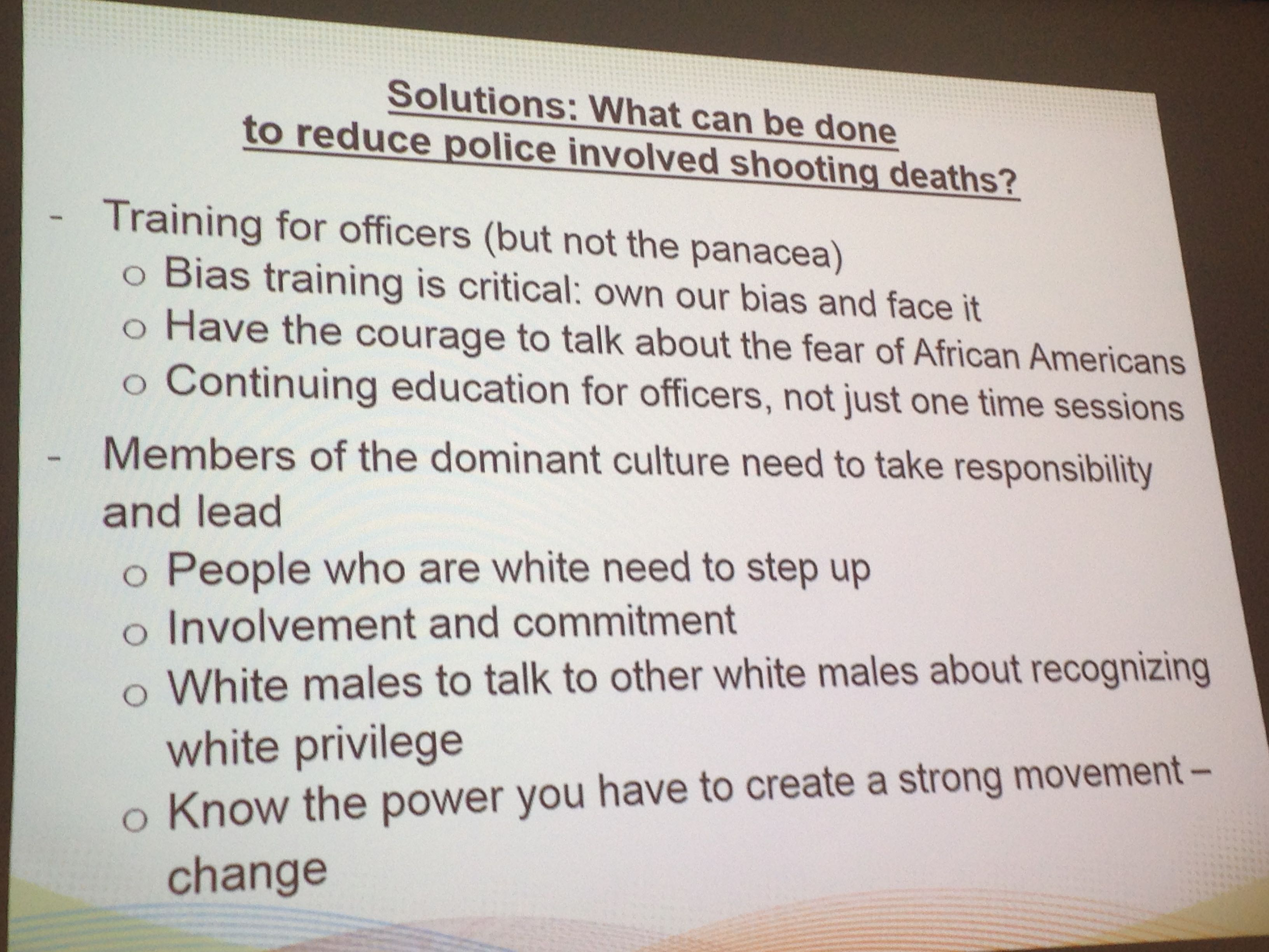 Portland Ferguson Report Slide 3