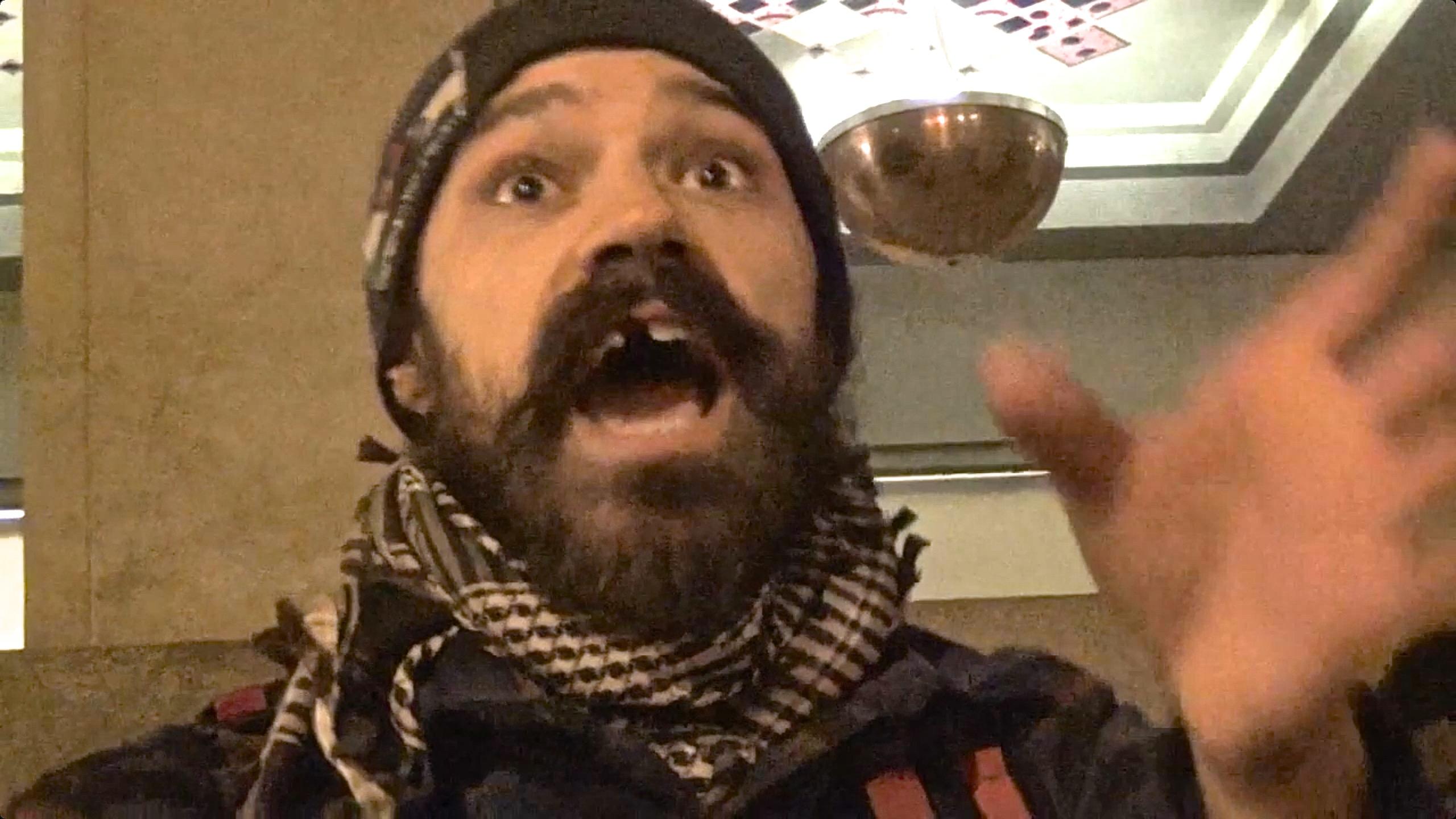 Violent Criminal Occupier Mario Haro