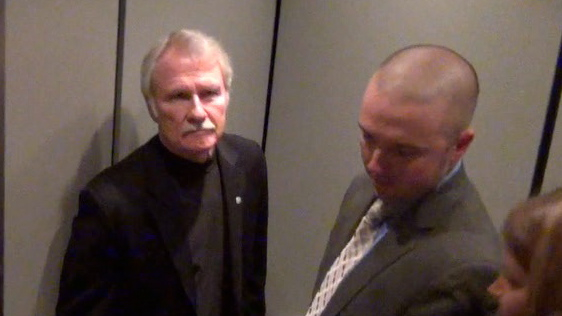 John Kitzhaber With State Police